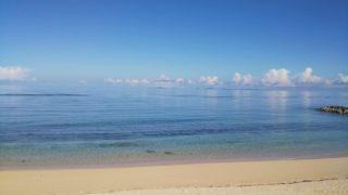 大宜味村の砂浜