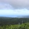 石山展望台より東海岸を望む